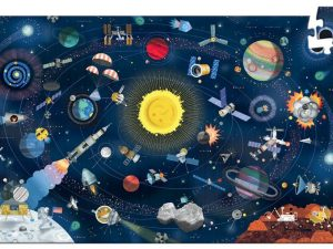 Djeco - Space 200 pce Observation Puzzle