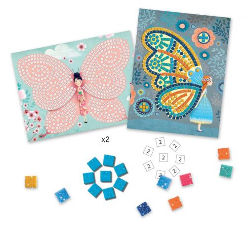 Djeco - Butterfly Mosaic Kit