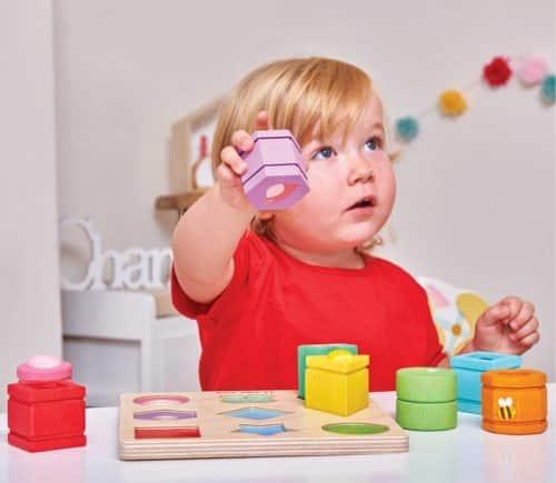 Le Van Toys - Petilou Sensory Shapes