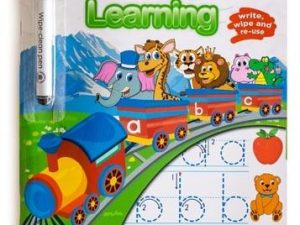 Ed-Vantage Wipe Clean Learning - Lower Case Letters