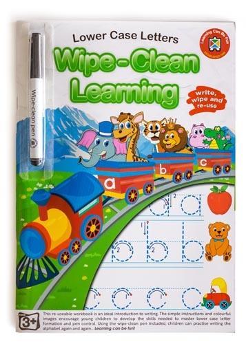 Ed-Vantage Wipe Clean Learning - Lower Case Letters