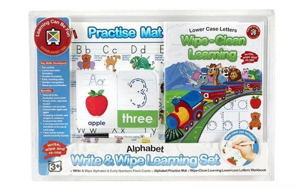 Ed-Vantage Wipe Clean Learning Set - Alphabet Skills