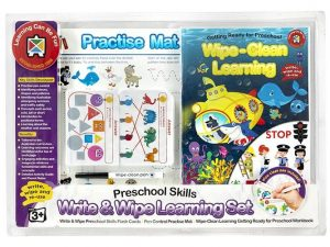 Ed-Vantage Wipe Clean Learning Set - Preschool Skills