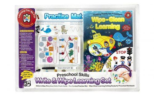 Ed-Vantage Wipe Clean Learning Set - Preschool Skills