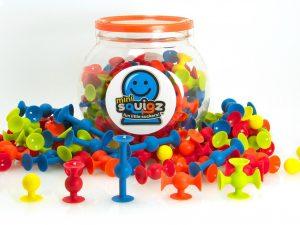 Fat Brain Toys - Mini Squigz Set