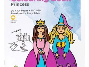 Educational Colours - Colouring Book - Princess 20 pages