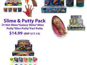 Slime and Putty Pack