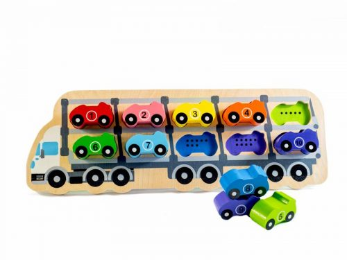 Kiddie Connect - 1 - 10 Car Counting Puzzle