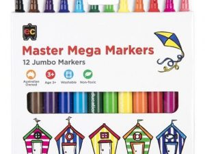 Educational Colours - Maxi Markers Set of 12