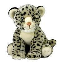 Nana's Weighted Toys - Snow the White Leopard 1.5kg