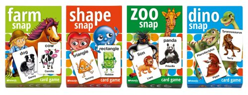 Play and Learn - Snap Cards
