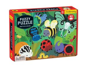 Mud Puppy 42 pce Fuzzy Beetle Puzzle