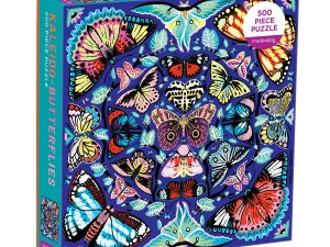 Mud Puppy 500 pce  Kaleido-Butterlies Puzzle