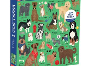 Mud Puppy 500 pce  Doodle Dogs Puzzle