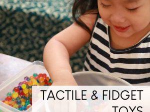 Tactile-Fidget Sensory
