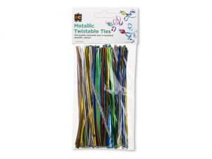 Twistable Metallic Ties